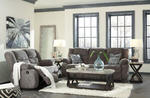 NEW LEATHER,FABRIC SOFAS & SECTIONALS