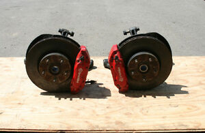 JDM ACURA RSX (DC5) FRONT BREMBO CALIPERS WITH KNUCKLE (02-06)