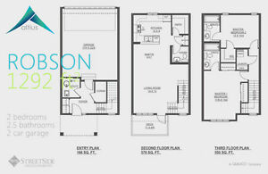 Altius Townhouses/1502sq.ft/3Bedroom/2.5Bath/Double Att.Garage Edmonton Edmonton Area image 4
