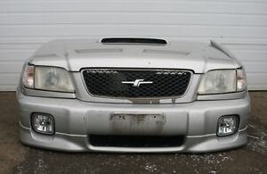 JDM SUBARU FORESTER (SF5) FRONT END NOSECUT (Silver) 2000-2002