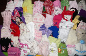 Lot of 45 items - Baby GIRL clothes - 3 months to 6 months old