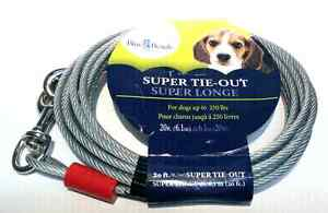 Blue Beagle 20ft Dog Tie-Out Cable