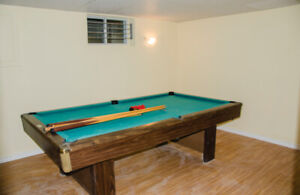 **Superb condition 4x8 pool table** (URGENT)