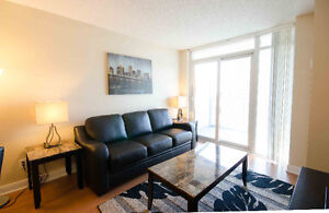 LUXURIOUS 2 & 1 BR FULLY FURNISHED APARTMENTS NEAR SQUARE ONE