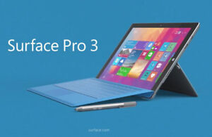 "Surface Pro 3 12"" 8GB RAM Intel Core i7"