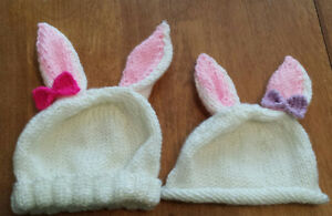 Baby Bunny Hats - So Cute for Easter!
