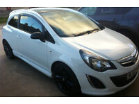 63 plate 2013 Vauxhall Corsa 1.2 D limited edition