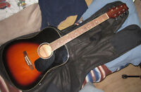 Tradition 6-String Acoustic w/ Softshell Voyager Case EC