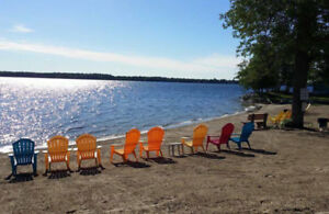 Waterfront cottage for rent on Mississippi Lake (Perth)