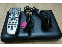SKY HD BOX NEARLY LIKE NEW WITH,POWER CABLE, WITH REMOTE CONTROL, HDMI CABLE FOR SALE