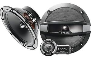 "Focal Performance R-165S2 6-3/4"" 2-way component system New"