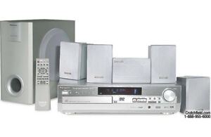 Panasonic SA-HT75 5-DVD Changer 5.1-Channel Home Theater