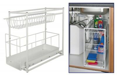 Einbauschublade für Spülschrank Küchenschublade Küche Schublade Spülunterschrank