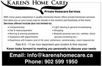 Room and Care for a senior available or in your home care