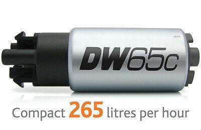 Deatschwerks DW65c Fuel Pump w/ Kit FOR 04-06 GTO 2008 - 2014 Subaru WRX 08+ STI