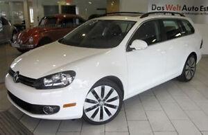 WOW! 2013 Volkswagen GOLF Wagon • RARE Sportline Special Edition