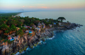 Amazing oceanfront villas  in magical vacation community Mexico