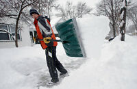 Part Time snow shoveling personnel  needed Good Student Job