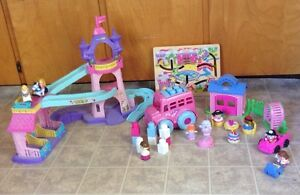 Girl toy lot