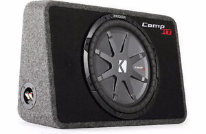 KICKER COMP RT SUBWOOFER * SHALLOW SUB *