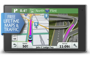 "Garmin DriveSmart 60LMT 6"" GPS w/ Free Lifetime Maps & Traffic"