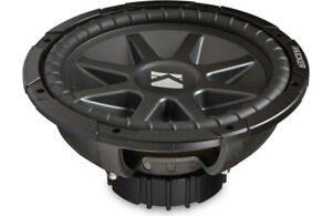 Kicker 12 CompVR Dual Voice Coil Subwoofer-NEW in box