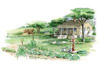 Old house - Barn - Camp