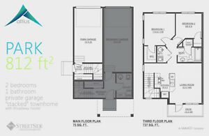 Altius Townhouses/1502sq.ft/3Bedroom/2.5Bath/Double Att.Garage Edmonton Edmonton Area image 2