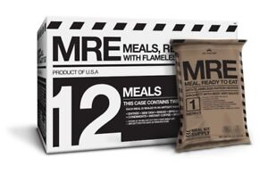 MRE Meals ready to eat 12-Pack