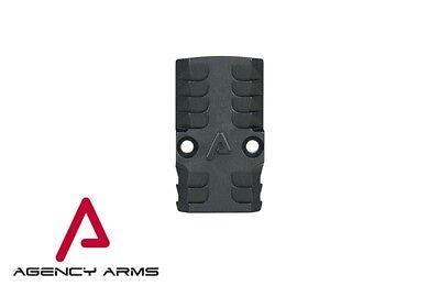 Agency Arms RMR Battle Plate for Glock - Bonesaw Battleplate - Trijicon RMR