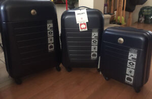 Delsey Luggage 3 piece luggage set