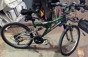Green CCM Bicycle