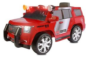 6v Chevy Tahoe Fire Rescue Truck
