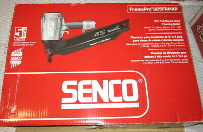Senco Framepro 325frhxp Full Round Head Framing Nailer Item 4h0101n