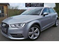 2015 65 AUDI A3 1.6 TDI SPORT 5DR - DEMO +1 LADY - JUST 6097 MILES - FULL S/H