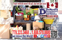 FREE Truck for Moving Delivery 778-223-3468