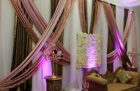 Authentic Event and Wedding Backdrops by RB Planners