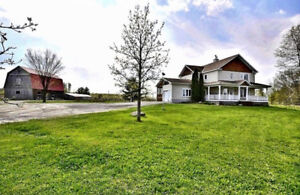 HOBBY FARM 6.4 Acres residential property - FOR SALE/A VENDRE