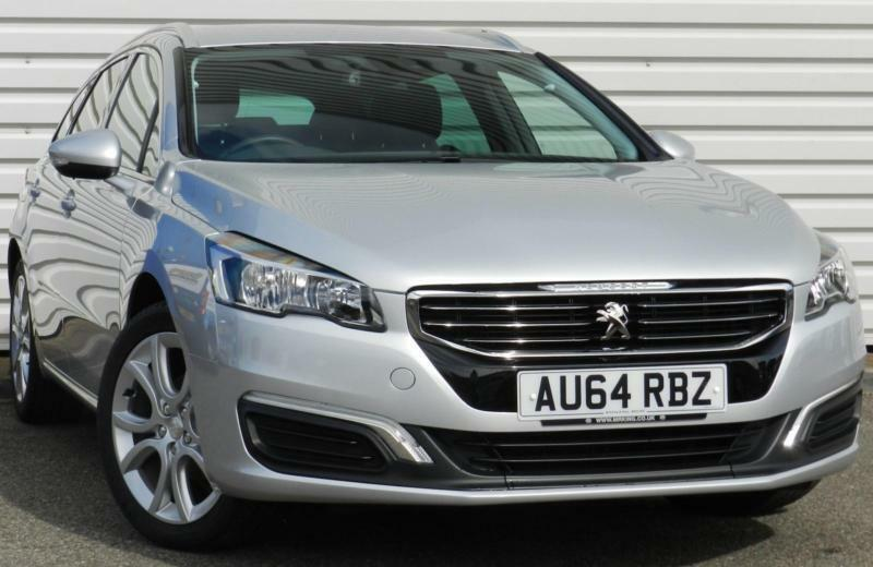 peugeot 508 sw active 1 6 e hdi diesel manual 5 door estate silver 2014 in saxmundham suffolk. Black Bedroom Furniture Sets. Home Design Ideas