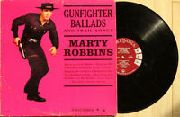 Marty Robbins Gunfighter Ballads And Trail Songs LP MONO