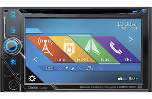 Clarion VX405 DVD receiver Double DIN - Apps