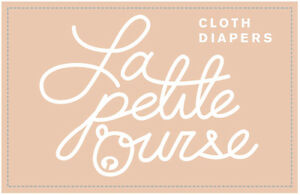 """Cloth Diaper """" La Petite Ourse"""" FREE delivery for order over 75$ West Island Greater Montréal image 3"""