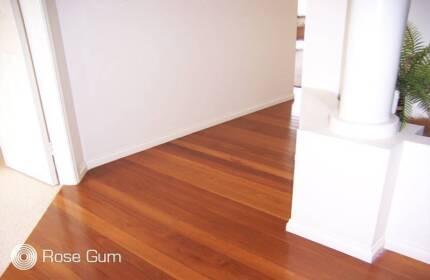 Rose Gum Solid Timber Flooring All Grades