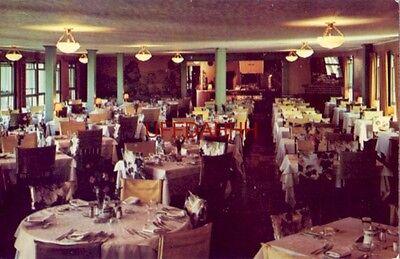 Hansons Hotel Of Hospitality Dining Room  Oquaga Lake  Deposit  Ny