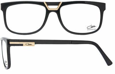 Cazal Men's Eyeglasses 6017 001 Black/Gold Full Rim Optical Frame (Cazal Glasses For Men)