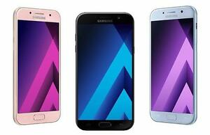 Brand New unlocked Samsung Galaxy A7 (2017) 5.7 inch LCD dual SIM + memory expandable