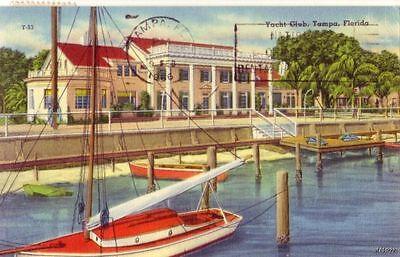 TAMPA, FL YACHT CLUB 1966