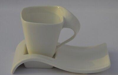 12tlg. Teilige Cappucinoset Porzellan Cappucinotassen Mokkatassen Espressotassen