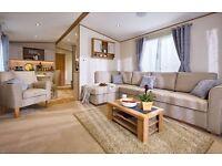 Luxury caravan for sale, Full decking & DG/CH, Berwick holiday park, Near Haggerston Castle