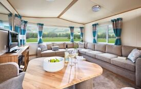 STATIC CARAVAN FOR SALE IN NORTH WALES - 3 BEDROOMS IN SNOWDONIA FOOTHILLS NR ANGLESEY - 5* PARK